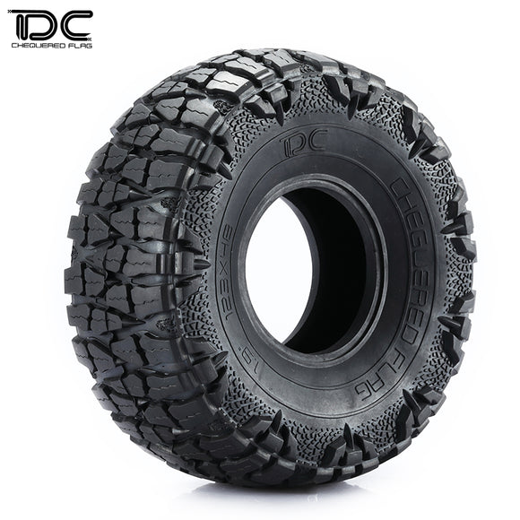 DC RC 1.9/2.2inch 123MM*48MM Dragon Claws Tire For RC 1 :10 Crawler Car (1 Pair)
