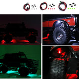 DJ TRX4 TRX6 General wheel eyebrow light Atmosphere light Chassis light Decorative light Three colors optional with light