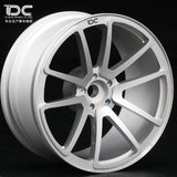 DC SPF Wheel Offset +9 Silver EP 1:10 RC Cars Drift On Road RWD AWD DC-50487 (4pcs)