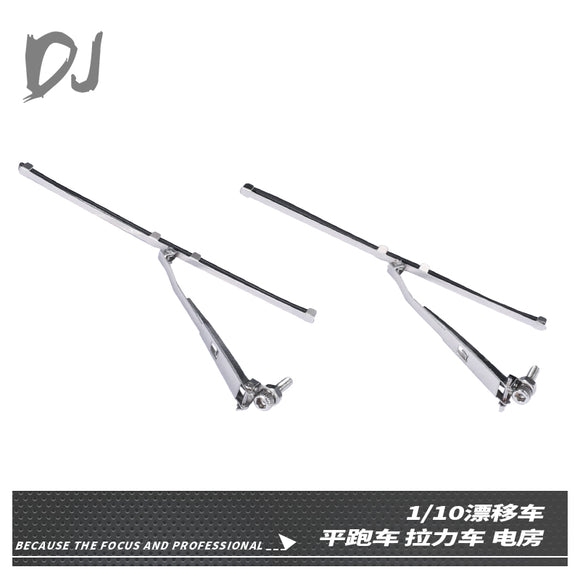 DC-DJ RC 1:10 METAL REMOVEABLE RAIN WIPER FOR ON-ROAD DRIFT CAR MST YOKOMO-YD2 RACING (2PCS)
