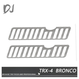 DC-DJ RC 1:10 CAR MENTAL RADIATOR GRILLE FOR TRX-4 FORD BRONCO DJI-1022 (2PCS)