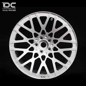DC RC 1:10 BLQ Wheel Offset +6/+9 Silver EP 1:10 RC Cars Drift On Road RWD AWD DC-50432 (4pcs)