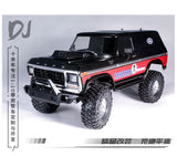 DJC-0334 DJ Traxxas trx4 Ford Bronco hood with slightly higher scoop air intake