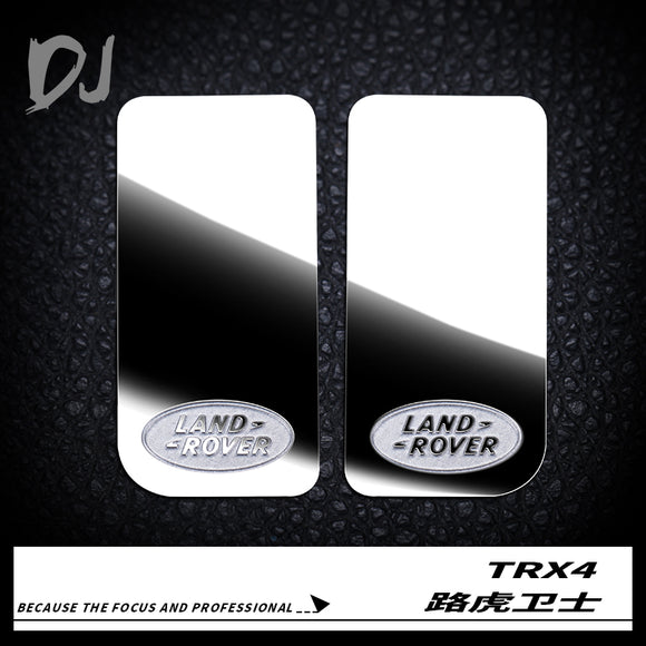 DC-DJ RC METAL STAINLESS STEEL MIRROR FOR TRAXXAS TRX-4 DEFENDER DJX-1035 (2PCS)