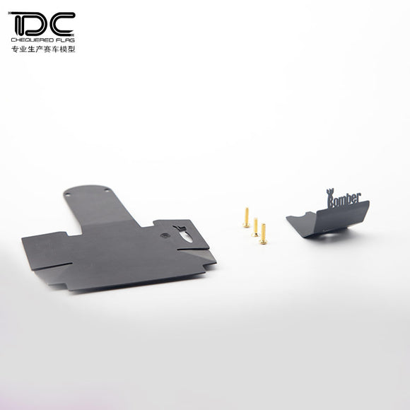DC 1:10 RC Rear axle protection Chassis Armor And Differential Armor For Axial 90048 RR10 DC-50121 (1Kit)