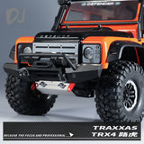 DC-DJ RC Simulation Metal Front Chassis Protection For TRAXXAS TRX4 Defender Land Rover DJC-0466 (1PC)