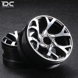 DC 1:10 RC 2.2inch CNC Machined Beadlock Crawler Aluminum Wheel (VORDOVEN Version) DC-50967 (2pcs)
