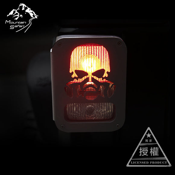 MS 1:10 RC TOPFIRE Taillight Metal Lampshade For Jeep/DOUBLE-E Wrangler Car Shell (1Pair)