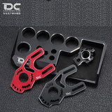 DC1:10 RC YD2/PLUS High Motor Mount For YOKOMO/YD2 Black/Red DC-50601 (1pc)