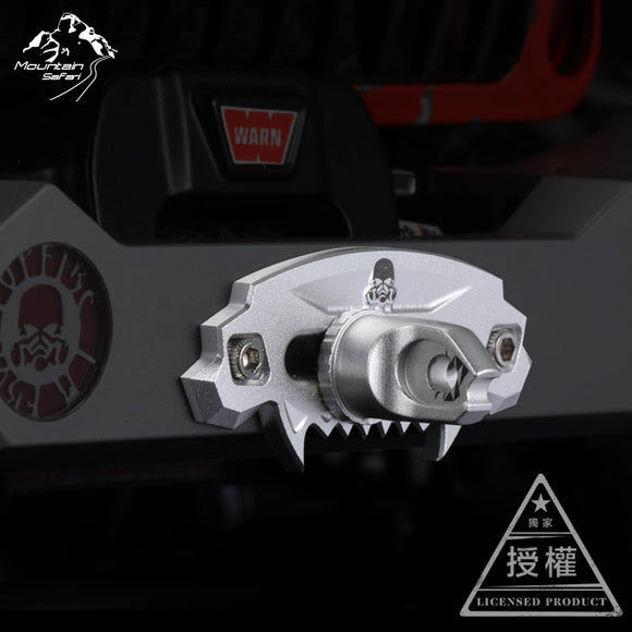 MS-6014 MS 1:10 RC TOPFIRE Metal Xprite Beast Series Aluminum Hawse Fairlead For Jeep Wrangler