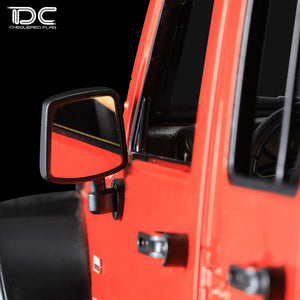 DC RC Scale Simultation DIY Decoration Mirror For 1:10 JEEP Wrangler DC-50885 (1Pair)
