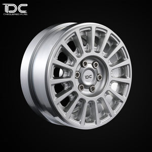 DC 1:10 RC 2.2inch CNC Machined Beadlock Crawler Aluminum Wheel (Rally Version) (2pcs)