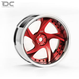 DC RC 1:10 DC-RW WHEEL OFFSET +6&+9 CHANGEABLE FOR DRIFT ON ROAD RWD AWD DCA-0024 (4PCS)