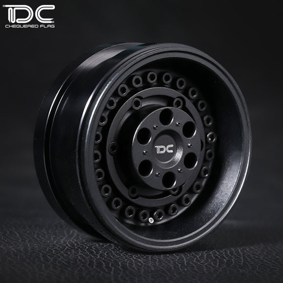 DC 1:10 All Metal Aluminum Alloy 1.9INCH ARMORY Version Beadlock Wheel For OFF-ROAD Crawler Scale RC Car DC-50973 (2PCS)