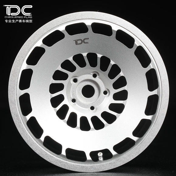 DC RC CCV Wheel Offset +6/+9 Silver/Black EP 1:10 RC Cars Drift On Road RWD AWD (4pcs)DC-50437