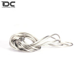 DC RC 1:10 Motor ESC Color Transparent Silicone Line For 1:10 1:8 1:7 RC Model Motor ESC  (1KIT)