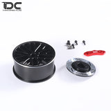 DC RC 1:10 CNC Aluminum Transmitter Steering Wheel For FUTABA SANWA Remote Controler (1PCS)DCA-0216/0217