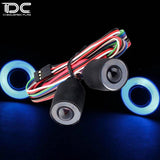 DC RC 1:10 Eye of Devil Front Big LED Light For JEEP WRANGLER (1PAIR)