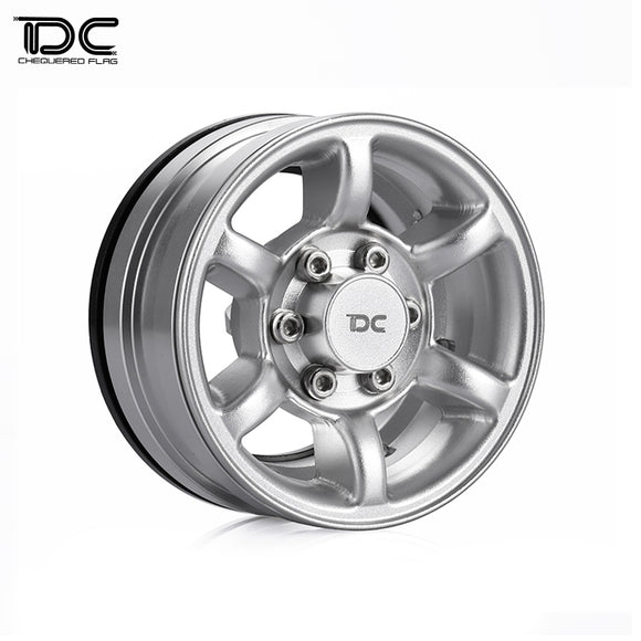 DC RC 1:10 RC 1.55inch CNC Machined Crawler Aluminum Wheel (PAJERO Version) DC-50740 (4pcs)