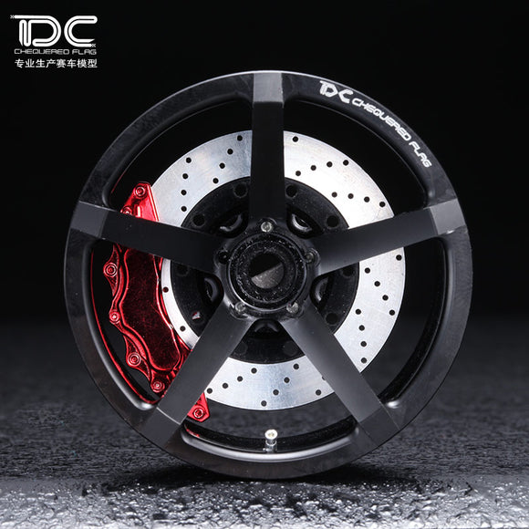 DC-50503 DC ZP.06 Wheel Offset +6/+9 Black EP 1:10 RC Cars Drift On Road RWD AWD  (4pcs)