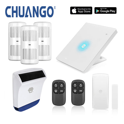 Chuango AW1 Plus 'Premium 260' WiFi Home Security Alarm