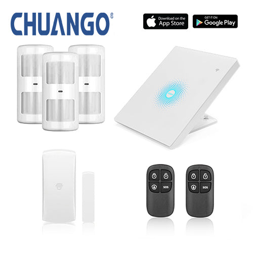 Chuango AW1 Plus 'Premium' WiFi Home Security Alarm