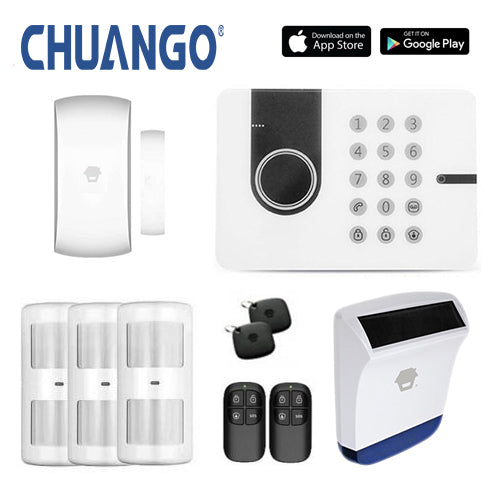 Chuango G5W (3g) 'Premium 260' Wireless DIY Home Security Alarm