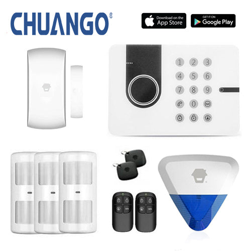 Chuango G5W (3g) 'Premium 280' Wireless DIY Security Alarm