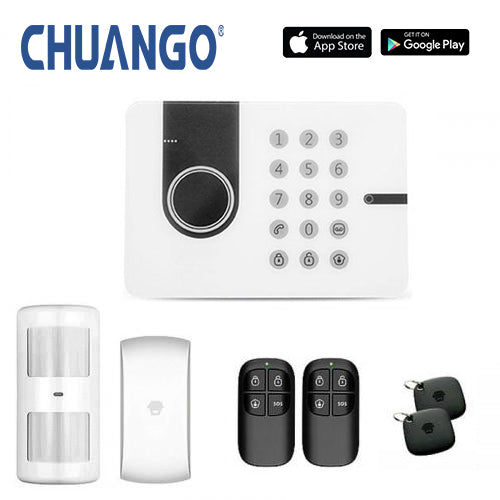 Chuango G5W (3g) 'Starter' Wireless DIY Home Security Alarm
