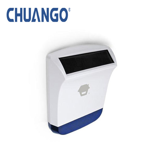 Chuango Wireless Outdoor Solar Powered Strobe Siren