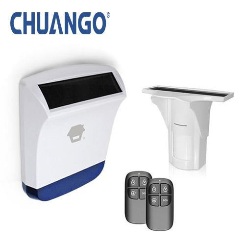 Chuango Solar Powered 'Starter 926' Wireless Security Alarm