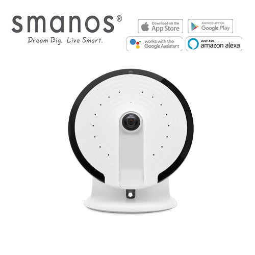 Smanos UFO Panoramic HD WiFi Camera - Security Alarm Services
