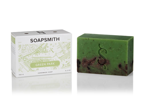 SOAPSMITH Green Park Soap 150g