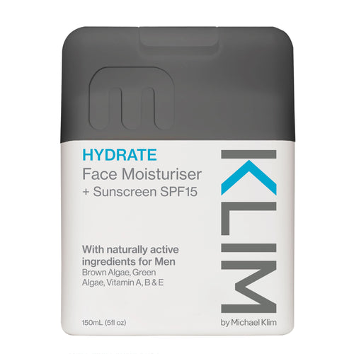 Face Moisturiser + Sunscreen SPF15 150ml