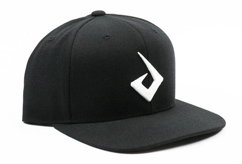 Pryme MX Flat Bill Logo Snapback - Black