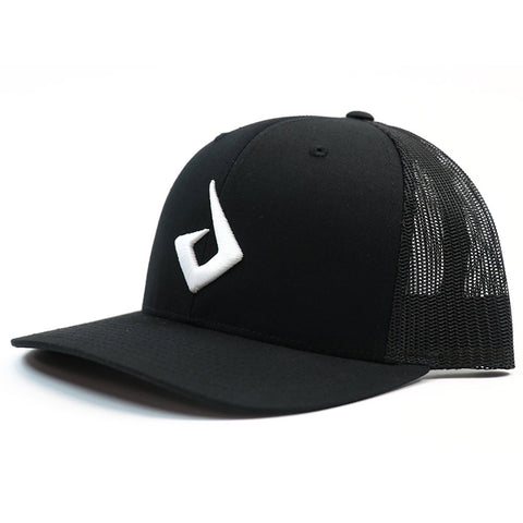 Pryme MX Curved Bill Logo Snapback - Black