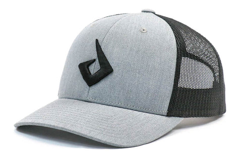 Pryme MX Curved Bill Snapback - Grey / Black