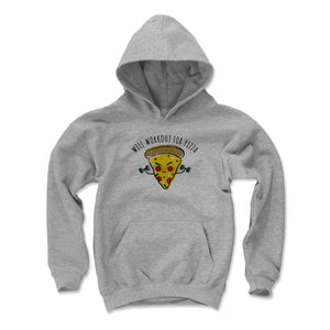 Funny Workout Kids Youth Hoodie | 500 LEVEL