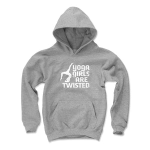 Yoga Lover Kids Youth Hoodie | 500 LEVEL