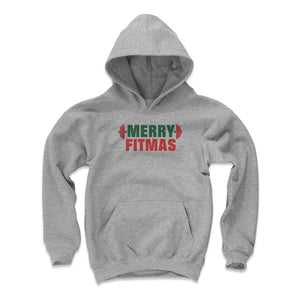 Christmas Workout Kids Youth Hoodie