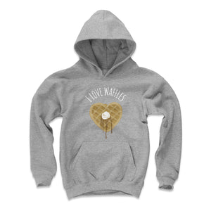 Waffles Kids Youth Hoodie | 500 LEVEL