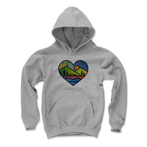Nature Art Kids Youth Hoodie | Bald Eagle Tees