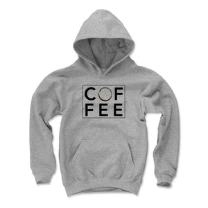 Funny Coffee Kids Youth Hoodie | 500 LEVEL