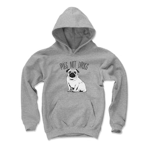 Funny Pug Kids Youth Hoodie | 500 LEVEL