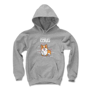 Corgi Kids Youth Hoodie | 500 LEVEL