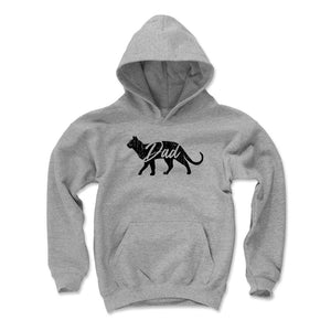 Cat Dad Kids Youth Hoodie | 500 LEVEL