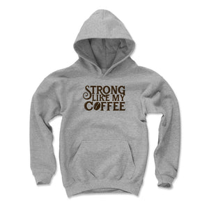 Coffee Lovers Kids Youth Hoodie | 500 LEVEL