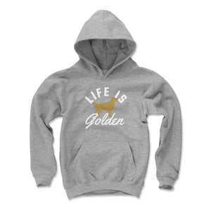Golden Retriever Kids Youth Hoodie | 500 LEVEL