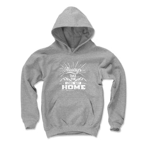 Hiking Lover Kids Youth Hoodie | Bald Eagle Tees