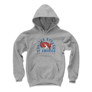 Steaks Kids Youth Hoodie | 500 LEVEL